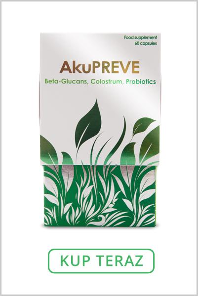 Suplement diety z probiotykami i colostrum